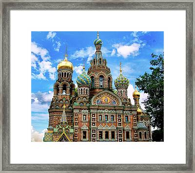 Church Of The Spilled Blood Framed Print by Gary Little
