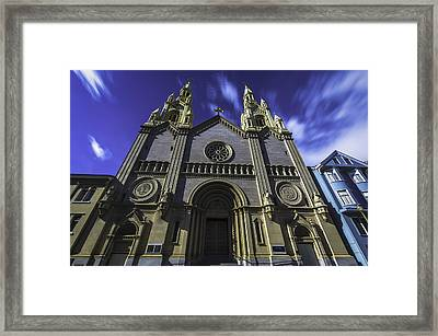 Church Framed Print by Phil Fitzgerald