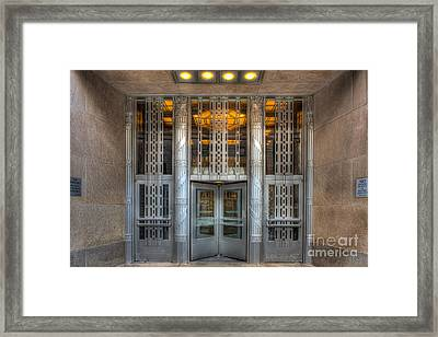 Church Street Post Office I Framed Print by Clarence Holmes