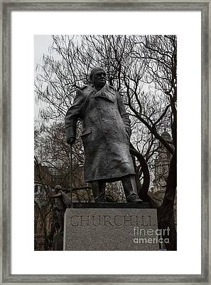 Churchill Framed Print by Stephen Smith