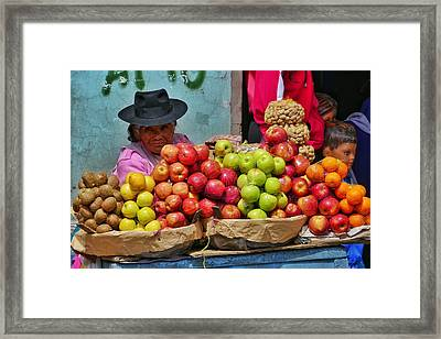 Chutillos Fiesta 11 Framed Print by Skip Hunt