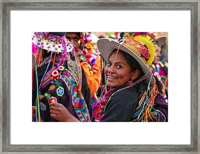 Chutillos Fiesta 2 Framed Print by Skip Hunt