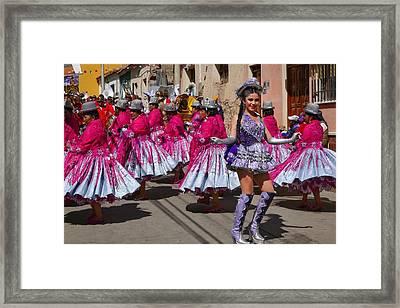Chutillos Fiesta 23 Framed Print by Skip Hunt
