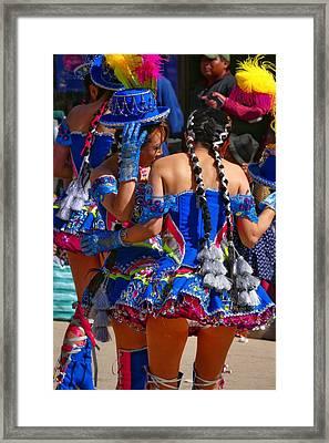 Chutillos Fiesta 24 Framed Print by Skip Hunt