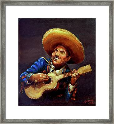 Cielito Lindo Framed Print by Hanne Lore Koehler