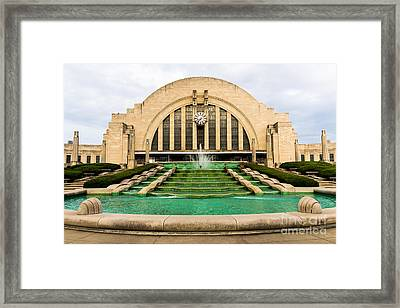 Cincinnati Museum Center Picture Framed Print by Paul Velgos