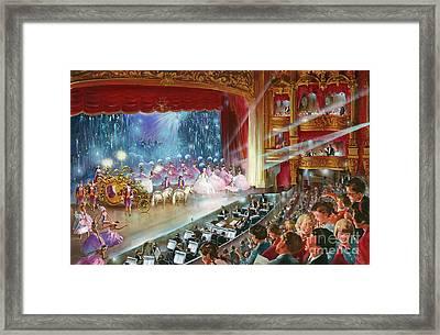 Cinderella Framed Print by John Worsley