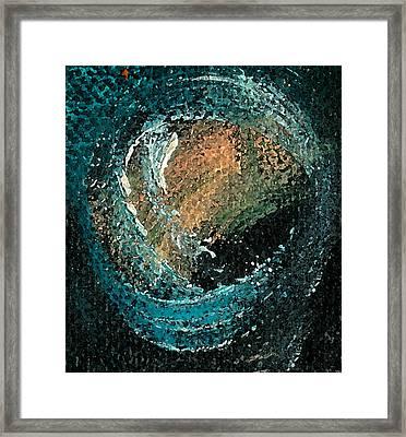 Visitors Eye Framed Print by Jorge Delara