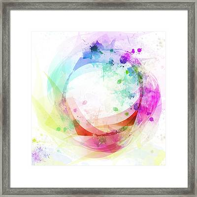 Circle Of Life Framed Print by Setsiri Silapasuwanchai