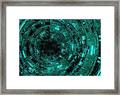 Gate Framed Print by Edouard Coleman
