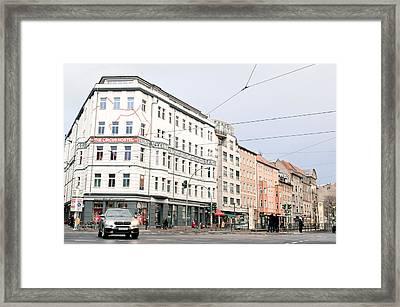 Circus Hotel Berlin Framed Print by Tom Gowanlock