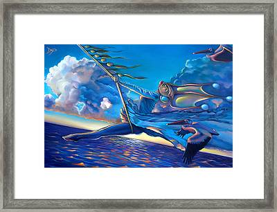 Cirque Du Sole Framed Print by Patrick Anthony Pierson