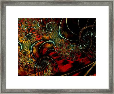 Cirque Framed Print by Lauren Goia
