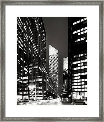 Citicorp Center Framed Print by S R Shilling