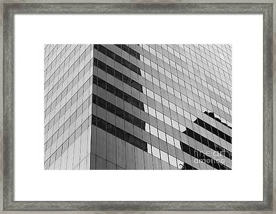 Citigroup Facade IIi Framed Print by Clarence Holmes