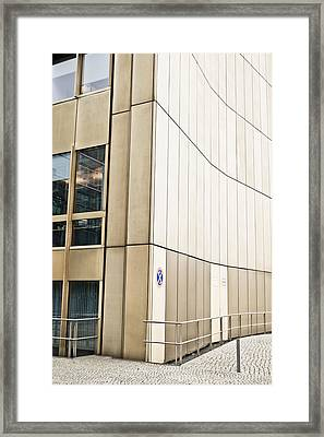 City Building Framed Print by Tom Gowanlock