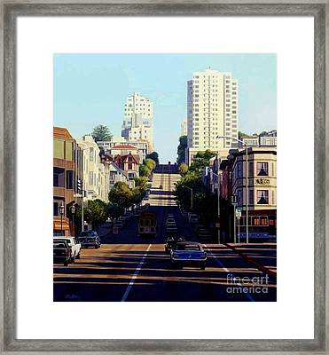 City By The Bay Framed Print by Frank Dalton