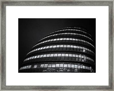City Hall London Framed Print by Martin Newman