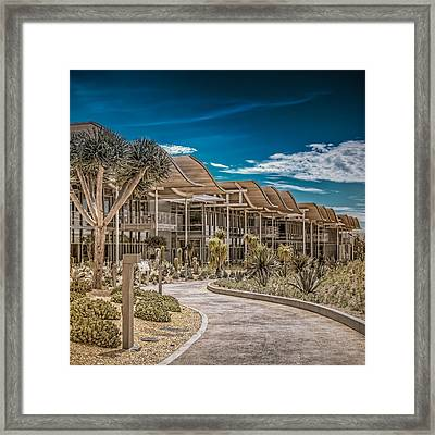 Newport Beach California City Hall Framed Print by TC Morgan