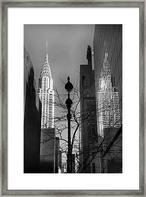 Chrysler Reflections Framed Print by Jessica Jenney