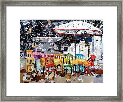 City Life Framed Print by Suzy Pal Powell