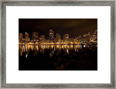 City Lights Framed Print by Naman Imagery