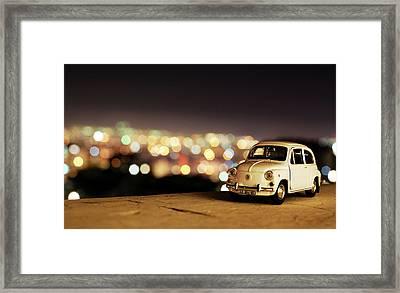 City Lights Framed Print by Ivan Vukelic