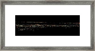 City Lights Framed Print by Mike Grubb
