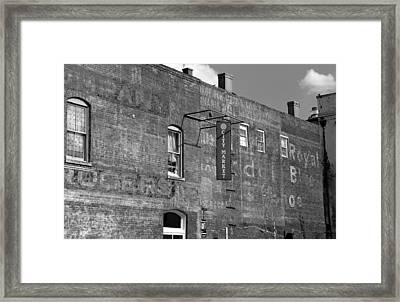 City Market Savannah Framed Print by David Lee Thompson