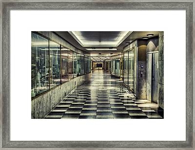 City Of Rapture Framed Print by EXparte SE