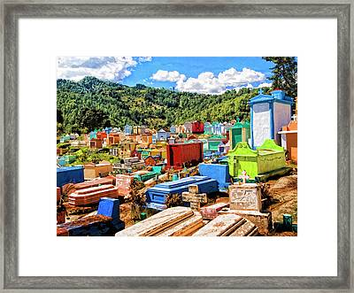 City Of The Dead 1 Framed Print by Dominic Piperata