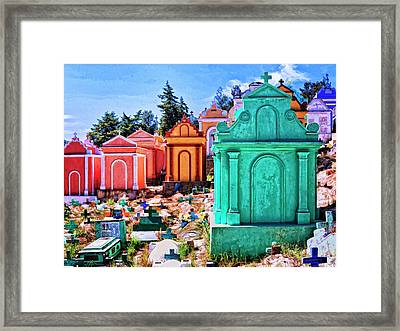 City Of The Dead 2 Framed Print by Dominic Piperata