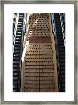 City Place Stairs Framed Print by Rob Hans