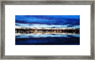 City Reflections Framed Print by Tor  Johannessen