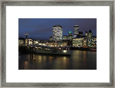 City View Framed Print by Andrea Guariglia