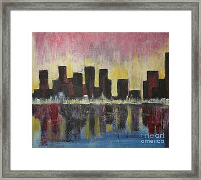 Cityscape  Framed Print by Michael Stanley