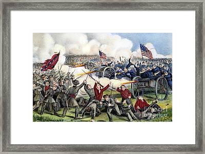 Civil War: Gettysburg, 1863 Framed Print by Granger
