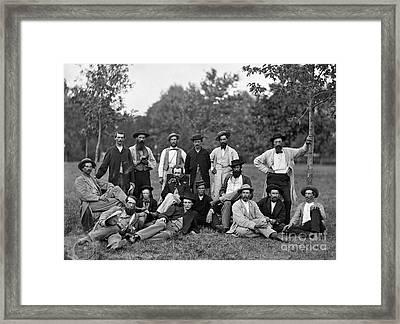 Civil War: Scouts & Guides Framed Print by Granger