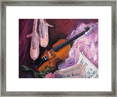 Clair De Lune Framed Print by B Rossitto