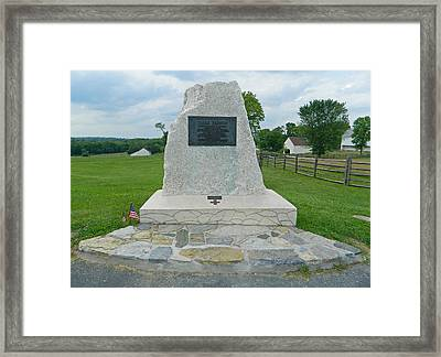 Clara Barton Memorial Framed Print by Emmy Marie  Vickers