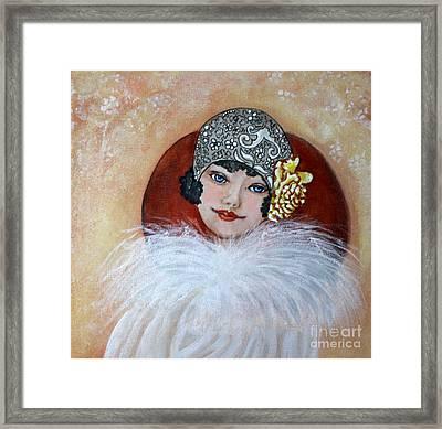 Clara Framed Print by Sue La Marr Kramer