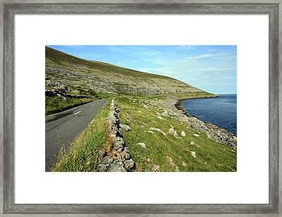 Clare Road Framed Print by John Quinn