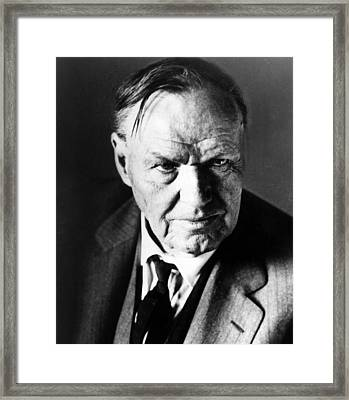 Clarence Darrow, Circa 1930s Framed Print by Everett