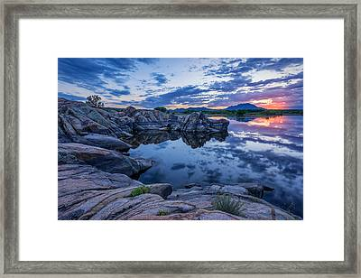 Clarity Framed Print by Theresa Rose Ditson