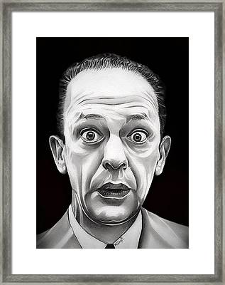 Classic Barney Fife Framed Print by Fred Larucci