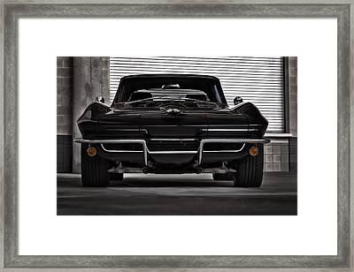 Classic Black Framed Print by Douglas Pittman