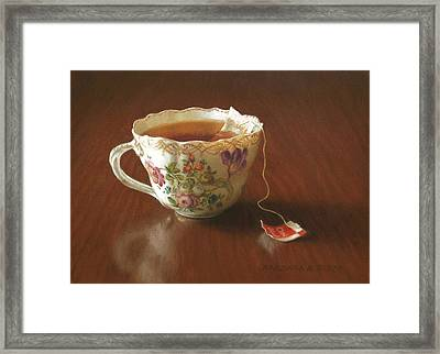 Classic Blend Framed Print by Barbara Groff