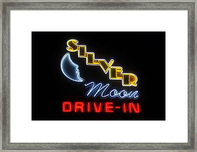 Classic Drive In Framed Print by David Lee Thompson