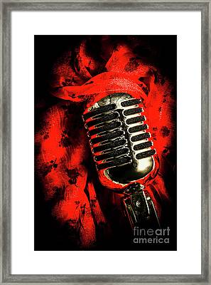 Classic Evening Cabaret  Framed Print by Jorgo Photography - Wall Art Gallery