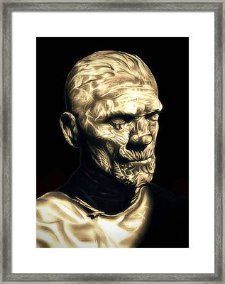 Classic Mummy Framed Print by Fred Larucci